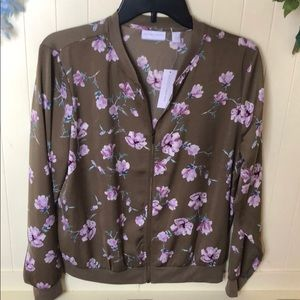 NWT New York & Company floral jacket